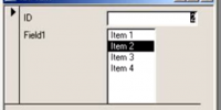 List Box Default Selection