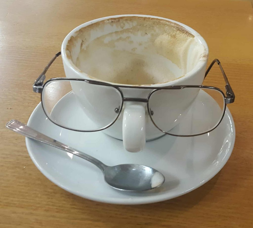 Costa Cup with Glasses